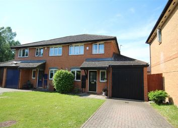 Thumbnail 3 bed semi-detached house for sale in Poundfield Way, Twyford