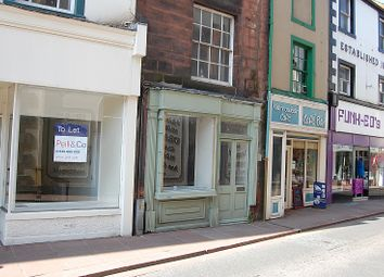 Thumbnail Retail premises to let in Devonshire Street, Penrith