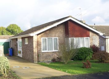 Thumbnail 2 bed detached bungalow for sale in Highfield Road, Halesworth