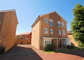 Thumbnail 4 bedroom town house for sale in Addington Avenue, Wolverton, Milton Keynes
