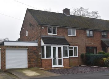 Thumbnail 2 bed semi-detached house for sale in Franklin Avenue, Tadley, Hampshire