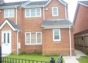 Thumbnail 3 bed property to rent in Olanyian Drive, Manchester