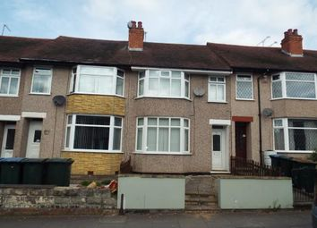 Thumbnail 3 bed terraced house for sale in Cedars Avenue, Coundon, Coventry