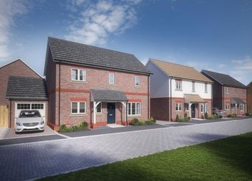 Thumbnail 3 bed detached house for sale in Brookers Hill, Shinfield