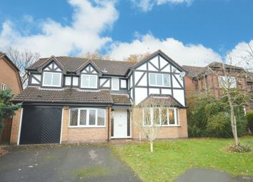 Thumbnail 5 bed detached house for sale in Besford Grove, Shirley, Solihull