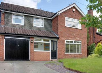 Thumbnail 4 bed detached house to rent in Grange Park Avenue, Wilmslow