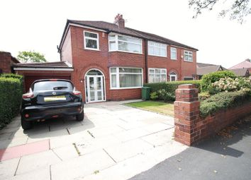 Thumbnail 3 bedroom semi-detached house for sale in Longford Road West, Reddish, Stockport