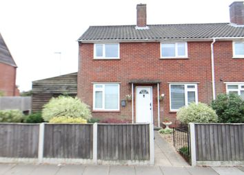 Thumbnail 3 bed end terrace house for sale in Salhouse Road, Sprowston, Norwich