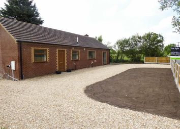 Thumbnail 3 bed bungalow for sale in Newtoft, Market Rasen, Lincolnshire