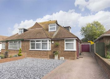 Thumbnail 3 bed semi-detached bungalow for sale in Dalmeny Avenue, Cliftonville, Margate