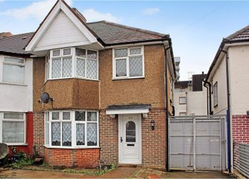 Thumbnail 3 bedroom end terrace house for sale in Sunleigh Road, Wembley