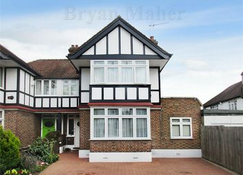 Thumbnail Semi-detached house for sale in Hollycroft Avenue, Wembley