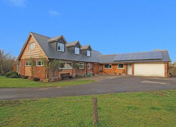 Thumbnail 4 bed detached house for sale in Kimbridge, Romsey