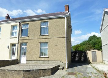 Thumbnail 3 bed semi-detached house for sale in Newtown, Ammanford, Carmarthenshire.