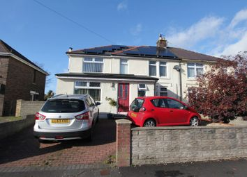 Thumbnail 3 bed semi-detached house for sale in Barry Road, Barry
