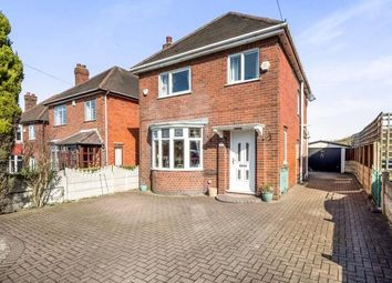 Thumbnail 3 bed detached house for sale in The Hill, Glapwell, Chesterfield, Derbyshire