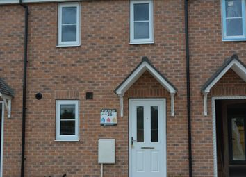 Thumbnail 2 bed terraced house to rent in Woodside Drive, Scunthorpe