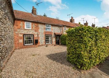 Thumbnail 3 bed end terrace house for sale in East Rudham, Norfolk, England