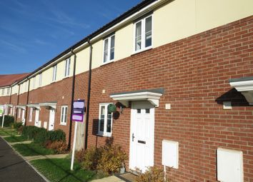 Thumbnail 3 bed terraced house for sale in River Way, Great Blakenham, Ipswich