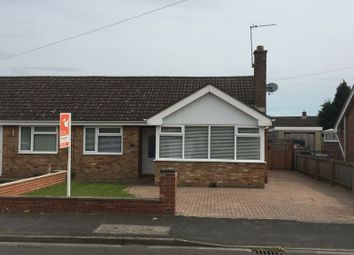 Thumbnail 2 bed semi-detached bungalow to rent in Sandcliffe Road, Grantham