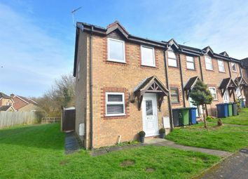 Thumbnail 2 bedroom end terrace house for sale in Dengaine Close, Papworth Everard, Cambridge