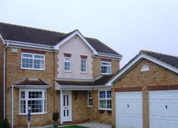 Thumbnail 4 bed detached house to rent in Westcroft Drive, Saxilby, Lincoln