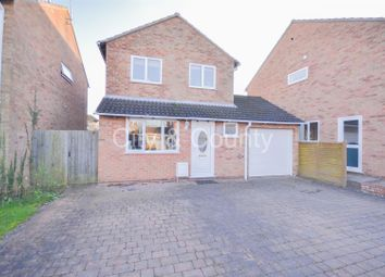 Thumbnail 3 bedroom detached house for sale in Elm Road, Folksworth, Peterborough