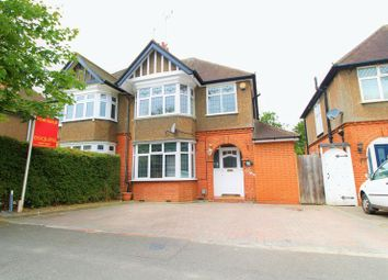 Thumbnail 3 bedroom semi-detached house for sale in Elmwood Crescent, Luton
