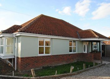 Thumbnail 3 bedroom detached bungalow for sale in Beccles Road, Bradwell, Great Yarmouth