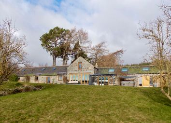 Thumbnail 5 bed barn conversion for sale in Midmar, Inverurie