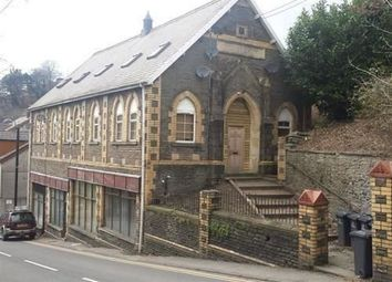 Thumbnail 1 bed flat to rent in Weseleyan Church, High Street, Llanhilleth.