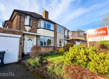 Thumbnail 3 bed semi-detached house to rent in Colebourne Road, Moseley, Birmingham