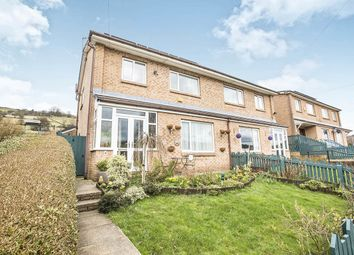 Thumbnail 3 bed semi-detached house for sale in Ashley Grove, Mytholmroyd, Hebden Bridge