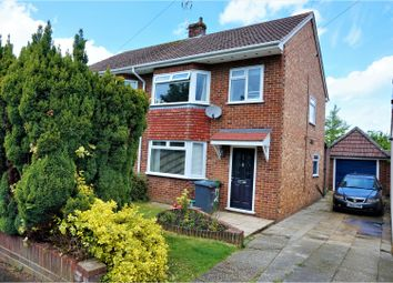 Thumbnail 3 bed semi-detached house for sale in Morley Road, Basingstoke