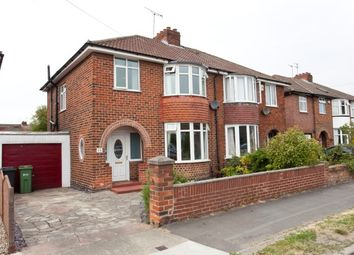 Thumbnail 3 bed semi-detached house to rent in Rawcliffe Drive, York