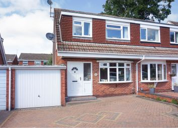 Thumbnail 3 bed semi-detached house for sale in Kendal Close, Redditch