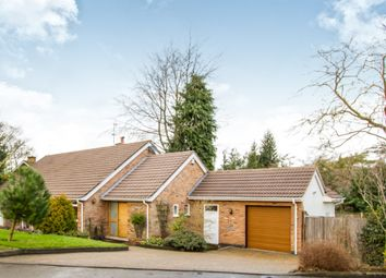 Thumbnail 4 bed detached bungalow for sale in The Oval, Oadby, Leicester