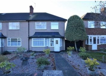 Thumbnail 3 bed end terrace house to rent in Windmill Lane, Southall, Middlesex