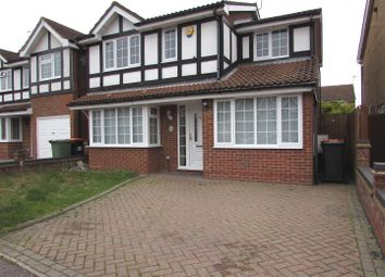 Thumbnail 4 bedroom detached house to rent in Milton Way, Houghton Regis, Dunstable