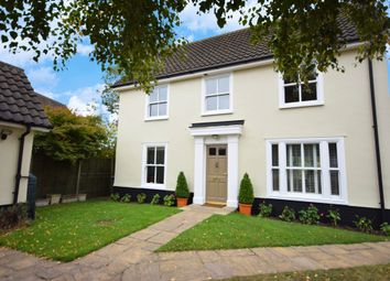 Thumbnail 3 bed detached house for sale in Meadow Rise, Aldringham, Leiston