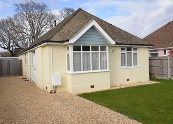 Thumbnail 3 bed detached bungalow for sale in Newlands Road, New Milton