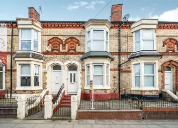 Thumbnail 4 bed terraced house for sale in Carisbrooke Road, Liverpool, Merseyside