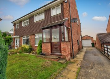 Thumbnail 3 bed semi-detached house for sale in Martin Rise, Thorpe Hesley, Rotherham