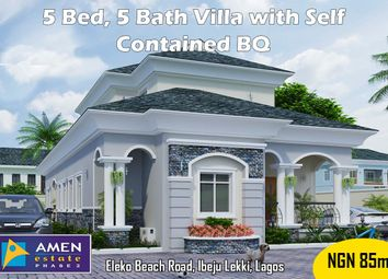 Thumbnail 5 bed villa for sale in Amen Estate Phase 2, Eleko Beach Road, Ajah, Ibeju Lekki, Lagos