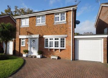 Thumbnail 4 bed detached house for sale in Hamilton Close, Bordon