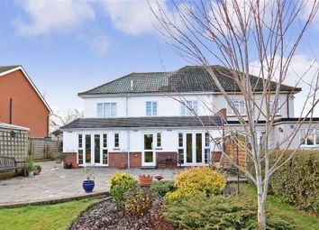 Thumbnail 4 bed semi-detached house for sale in City Way, Rochester, Kent