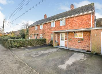Thumbnail 3 bed semi-detached house for sale in West Fen Drainside, Frithville, Boston