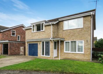 Thumbnail 4 bed detached house for sale in Dukes Drive, Ramsey Forty Foot, Ramsey, Huntingdon