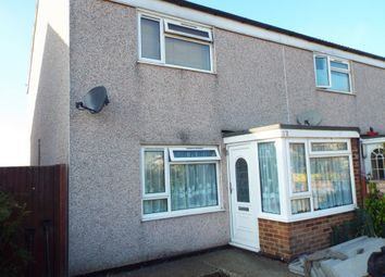 Thumbnail 2 bed end terrace house for sale in Dunstan Avenue, Westgate-On-Sea