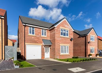 Thumbnail 4 bed detached house for sale in Wentworth Way, Ashington, Northumberland